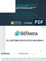 1.3 Política Educativa Valencia Carlos