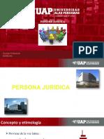 PERSONA JURÍDICA GRUPO