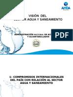 vision del agua y saneamiento