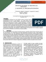 Estudio de Tránsito de La Av. León Arechua – Av. Túpac Amaru y Sus Intersecciones Ica