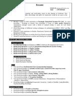 Ansu Prasad Resume