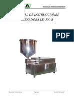 Manual TEMA Llenadora Liquidos