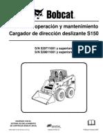 Manual Operación y Mantenimiento Bobcat S150 6904124ar om 2-07