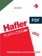 Hafler p7000 Power Amplifier Service Manual