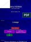 The Life of Imam Zainul Abideen (a.S)
