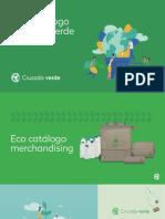 Catalogo Merch Ecológico