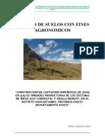 Estudio Agrologico PAUCARTAMBO Rev A
