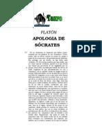 Platon - Apologia de Socrates