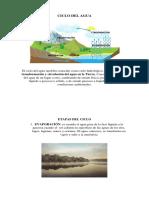 El ciclo del agua también conocido como ciclo hidrológico.docx