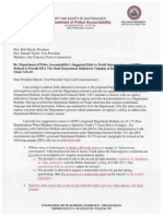 PoliceCommission121119 DPAPoliceCommissionLetterandExhibit DB19 125 YouthInterrogations