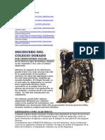 HECHICEROS DE CADA COLEGIO