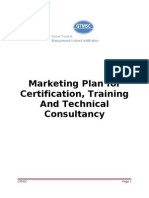 Marketing Plan for Food Safety Accreditation Final