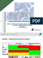 Rheinmetall Weapon Ammunition - Infantry - 05-2011
