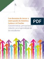 Docentes de tercer y sexto grado de América Latina y el caribe