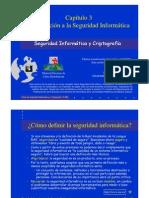 Seguridad Informatica Introduccion a Seguridad Informatica