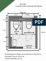 WC Planung