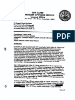 New Haven Police Department Internal Affairs Investigation