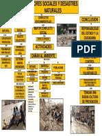 Los Actores Sociales y Desastres Naturales