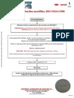Lactobacilos mesofilos - recuento ISO 15214-1998