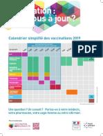 Calendar vaccinal