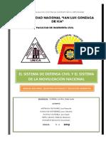 Tema 6 - El Sistema de Defensa Civil y el Sistema de la Movilización Nacional