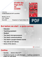 Getting Started With the Internet of Things (IoT) Using the Texas Instruments CC3200