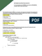 Examen de Estructura de Datos 07