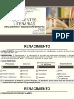 Corrientes Literarias Caste5