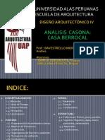 ANALISIS CASONA BERROCAL
