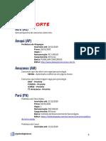 Catálogo de concursos de Psicologia 2020