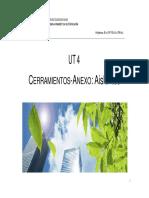 UT 04_Cerramientos-ANEXO Aislantes