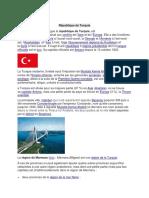 République de Turquie