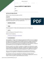 Rg 4647-19 Movimientos de Activos Virtuales y No Virtuales