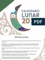 calendario LUNAR 2020