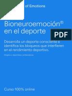 Bioneuroemocion en El Deporte