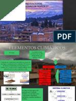 Elementos Climaticos