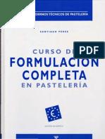 Curso de Formulación Completa en Pastelería