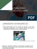 ALTERACIONES CARDIOVASCULARES LAPAROSCOPIA