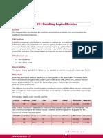 Design Pattern 004 Handling Logical Deletes
