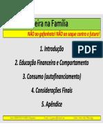 Saúde Financeira Na Família - 'NÃO Ao Gafanhoto! ... - Palestra Espaço Vida
