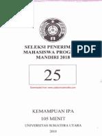 2018_Soal Saintek SMM USU Kode 25.pdf