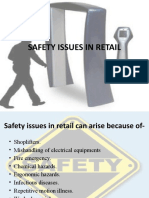Safety Issues in Retail Ppt