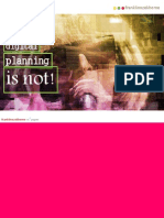What Digital Planning is Not