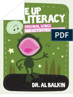 Tune Up to Literacy Original Songs and Activities for Kids