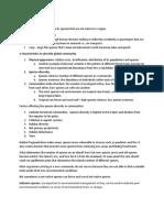ES101 Study Notes