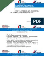 Carlos Javier Mendoza Uso Concretos Aceros Alta Resistencia Nuevas Ntc