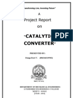 Catalytic Converter (Final Report)