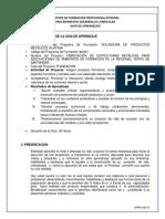 1802713 SOLDADURA DE PRODUCTOS METÁLICOS (PLATINA)