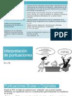 teorico puntuaciones (evaluación psicológica)