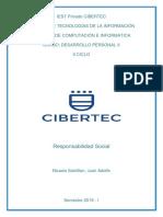Informe - Juan Adolfo Nicasio Santillan